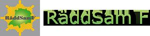 Räddsam f Logotyp